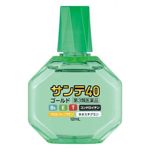 【第3類医薬品】 サンテ40ゴールド 12ml 点眼薬 【参天製薬】