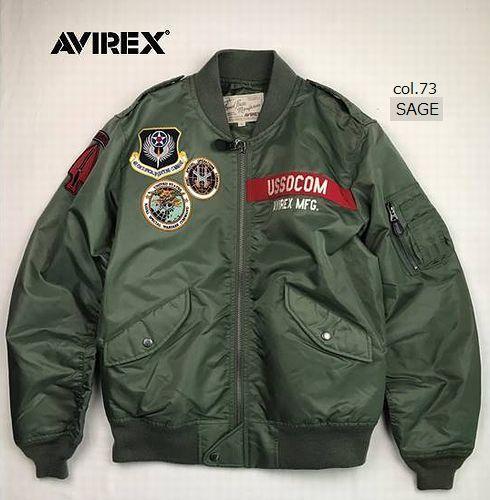 AVIREX 6192132 L-2 USSOCOM/L-2 アメリカ特殊作戦軍