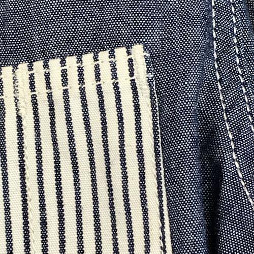 MOMOTARO JEANS 05-226 マルチポケット・シャンブレーシャツ