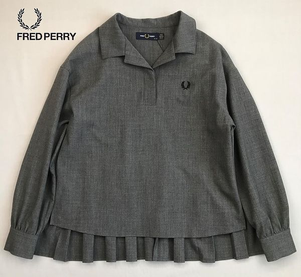 FRED PERRY F8509 Pleated Back Woven Shirt