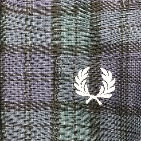 FRED PERRY F4528 B.D Tartan Shirt