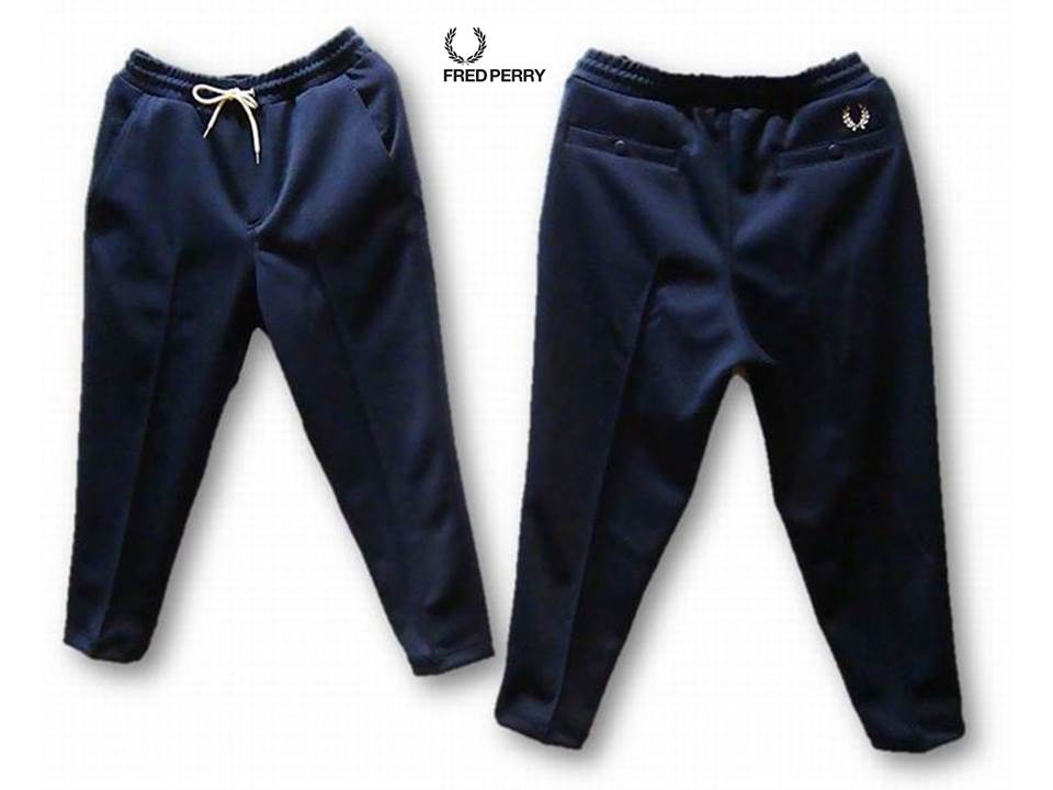 FRED PERRY F4322 Cropped Pocket Track Pants
