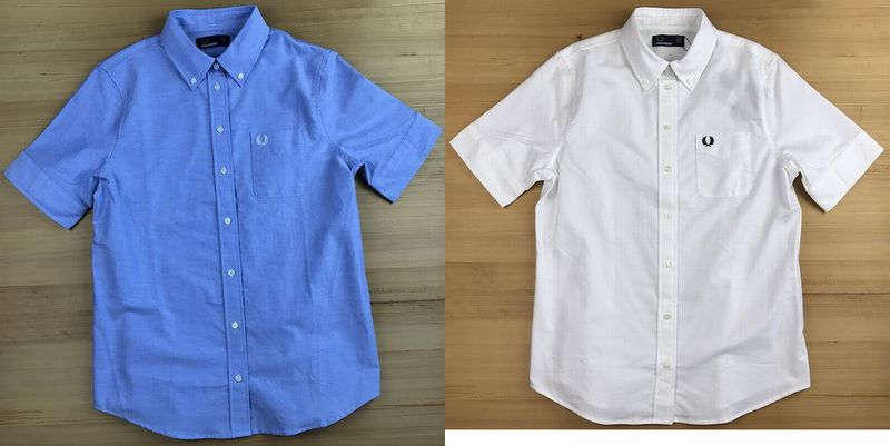 FRED PERRY G1135 Oxford Short Sleeve Shirt