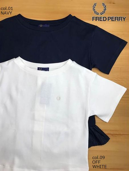 FRED PERRY F5301 Textured Short Sleeve Top