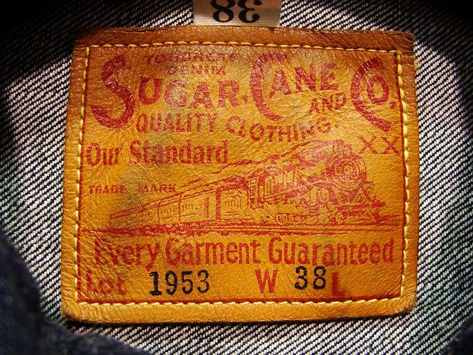 SUGAR CANE SC11953 14.25オンス・デニムジャケット・1953モデル