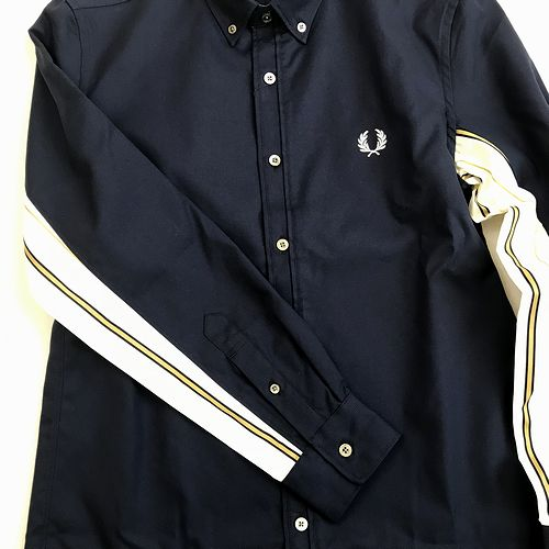 FRED PERRY F4545 Mix Striped Oxford Shirt
