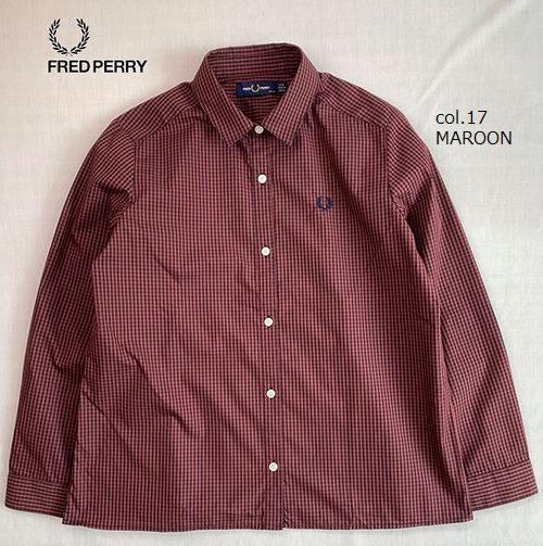 FRED PERRY F8530 2 Colours Gingham Shirt
