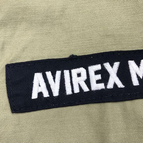 AVIREX 6182191 パッチドカスタムシェルパーカー