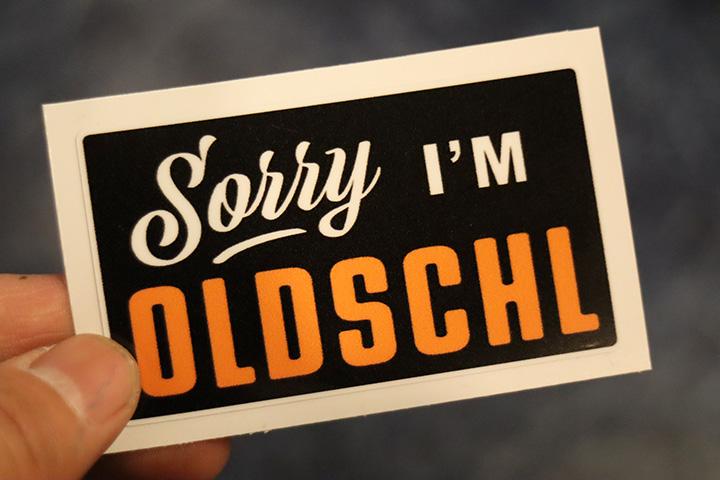 OSSANTHEHOOD vinyl sticker (sorry)