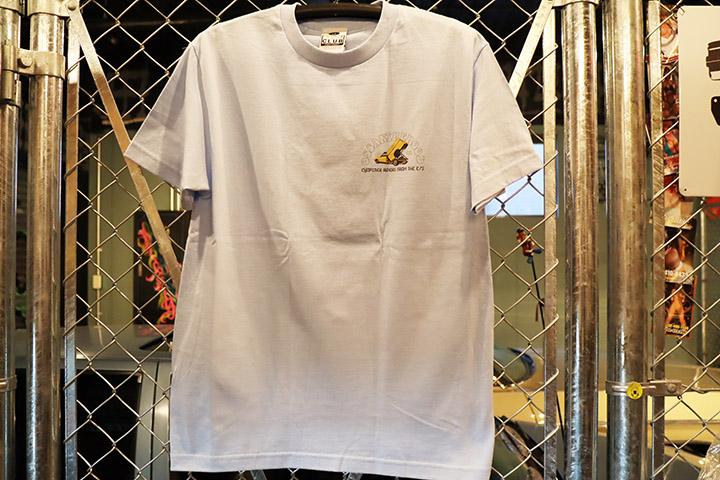 OSSANTHEHOOD Tshirt (chopstick-yl) / sky blue