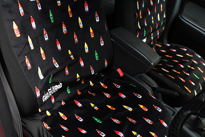 OSSANTHEHOOD universal seat cover (fourties) / black