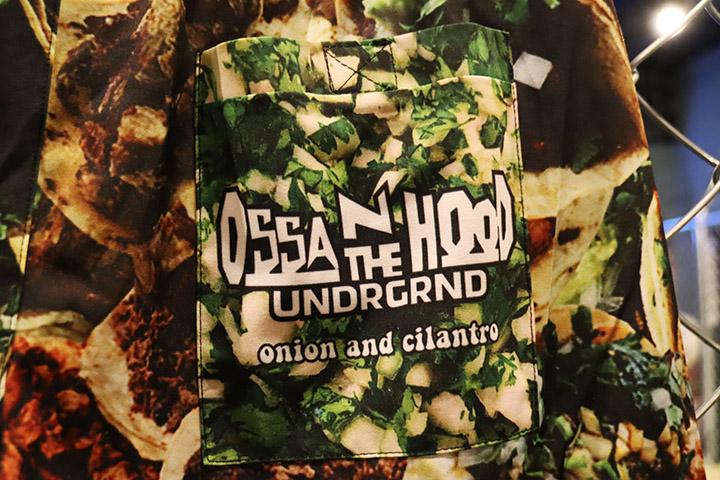 OSSANTHEHOOD タコパンツ board shorts / tacos