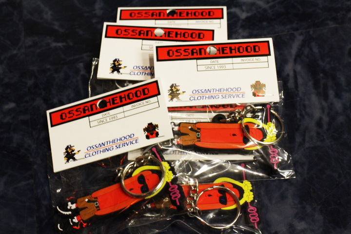 OSSANTHEHOOD vinyl keychain (most wanted)