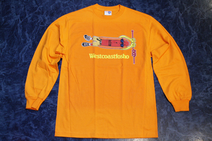 OSSANTHEHOOD longsleeve Tshirt (most wanted) / orange