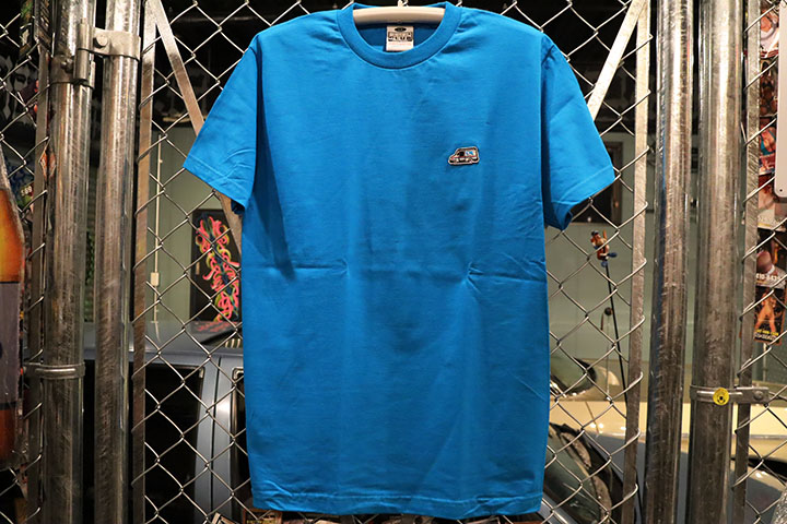 OSSANTHEHOOD Tshirt (patched) / tarquoise