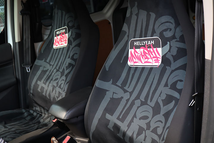 NICETY universal seat cover / black
