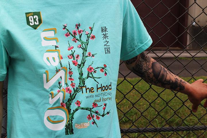 OSSANTHEHOOD Tshirt (ocha) / ceradon