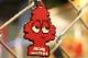 OSSANTHEHOOD keychain (bigtree) / magenta