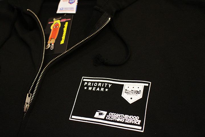 OSSANTHEHOOD zipup hood (superossan) / black