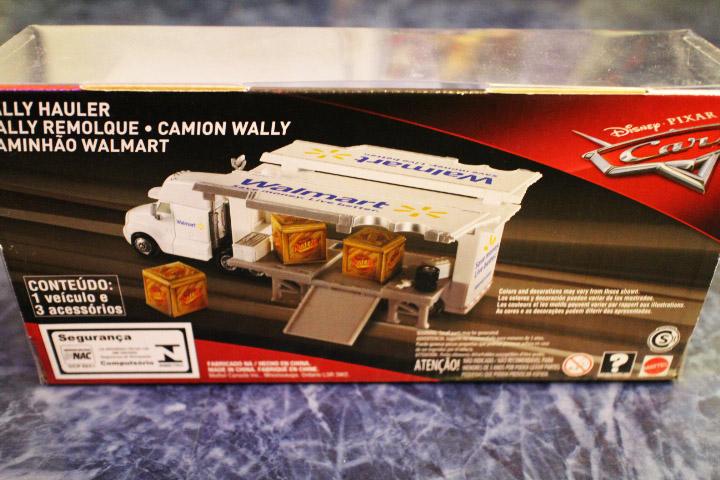 CARS x  WALMART wally hauler