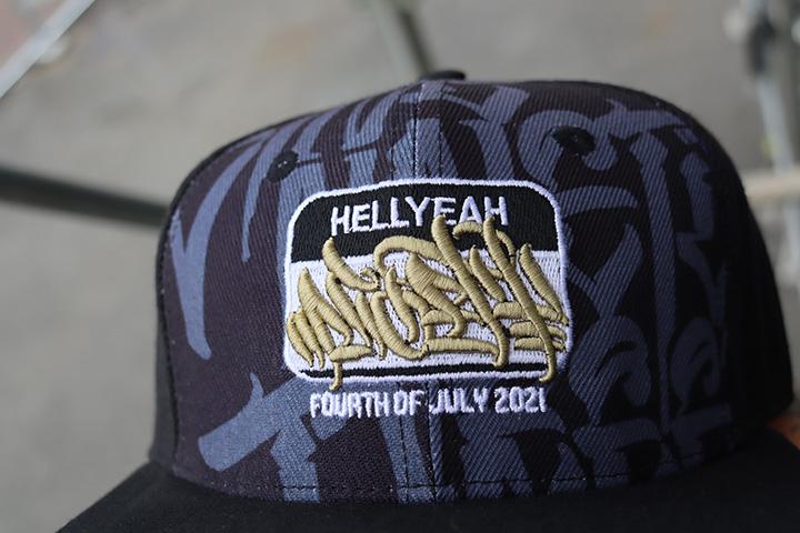 """NICETY """"HELLYEAH""""snapback cap"""