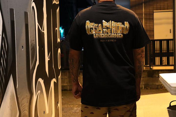 OSSANTHEHOOD Tshirt (placa) / black