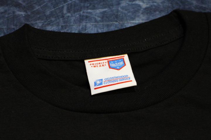 OSSANTHEHOOD Tshirt (rim) / black