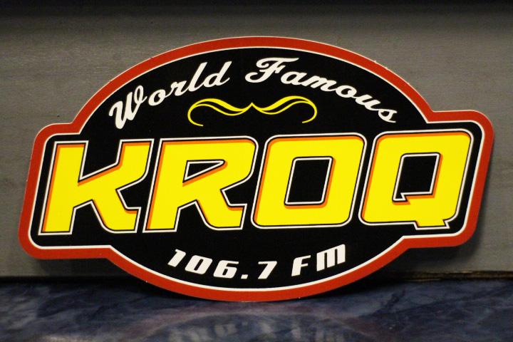 KROQ vintage sticker (2003)