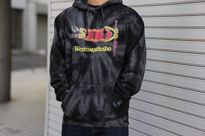 OSSANTHEHOOD pullover hood (most wanted) / black dye
