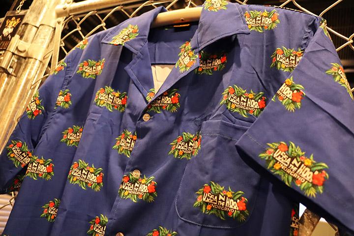 OSSANTHEHOOD aloha open shirt (tropical) / royal