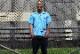 OSSANTHEHOOD S/S shirt (logistics) / blue stripe