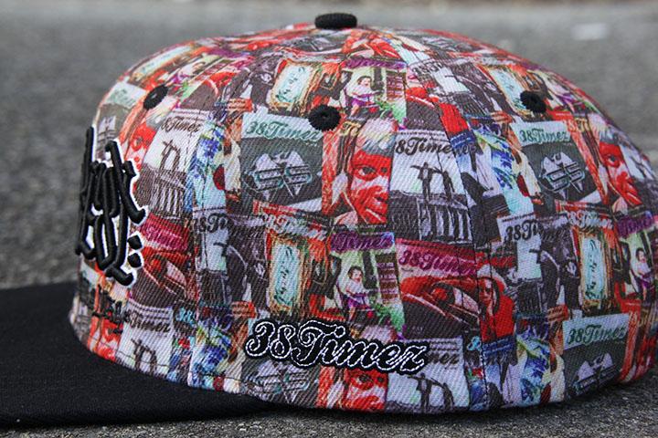 OSSANTHEHOOD x 38TIMEZ snapback cap