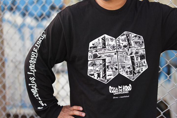 OSSANTHEHOOD x 38TIMEZ longsleeve Tshirt