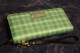OSSANTHEHOOD vinyl wallet (garment) / green