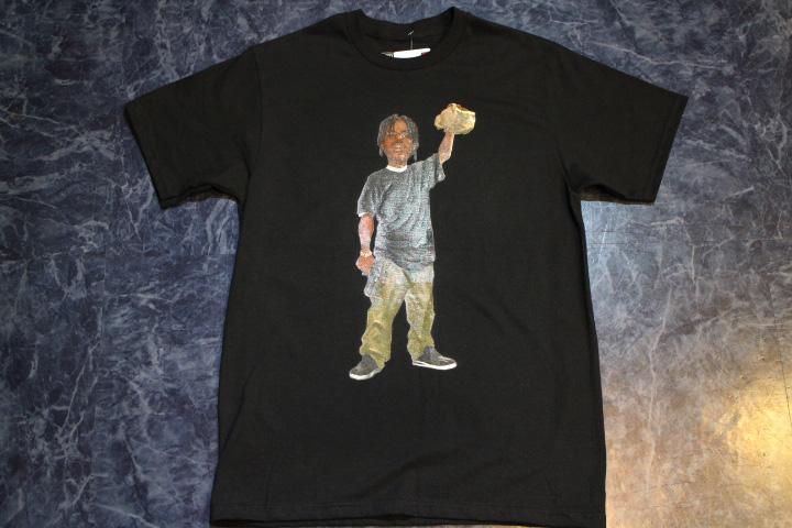 BERKLIN Tshirt (burger) / black