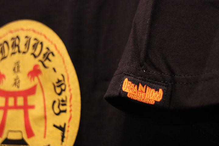 OSSANTHEHOOD Tshirt (jinja) / black
