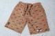 OSSANTHEHOOD cotton twill short pants  (red car) / khaki