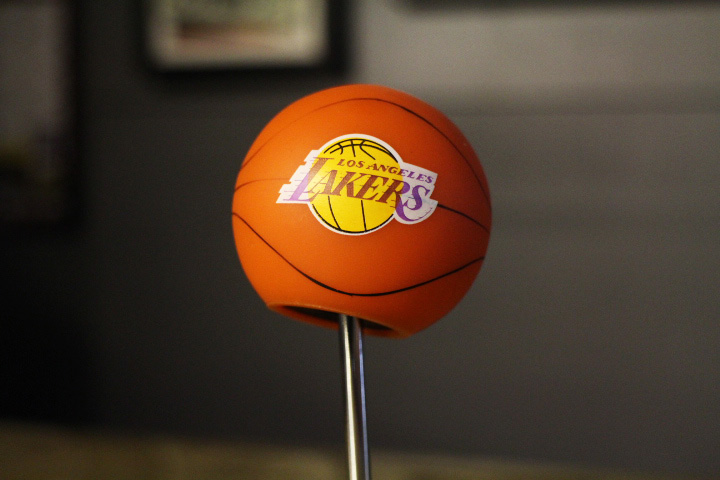 LA LAKERS vintage antenna topper