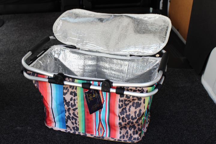 SERAPE & CHEETAH insulated cooler carry