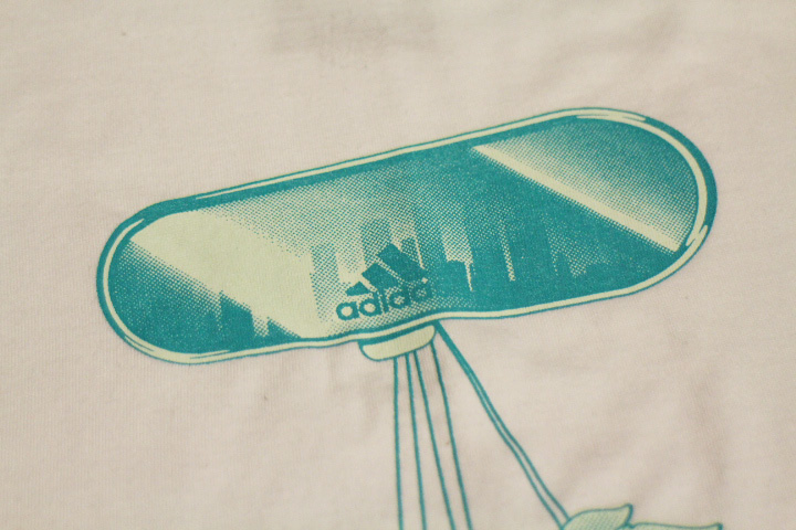 ADIDAS LOS ANGELES Tshirt (air freshener) / white