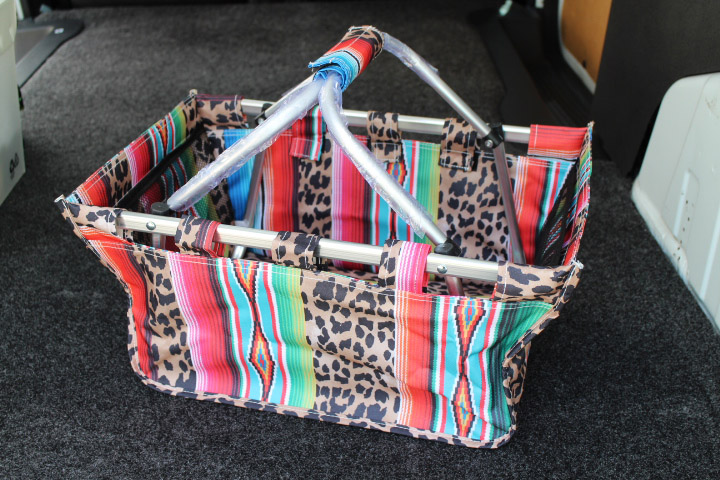 SERAPE & CHEETAH luggage organizer