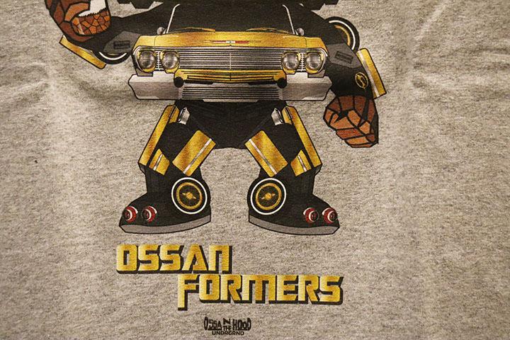 OSSANTHEHOOD Tshirt (ossanformers-1) / heather gray