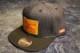 OSSANTHEHOOD snapback cap (indigo) / indigo denim