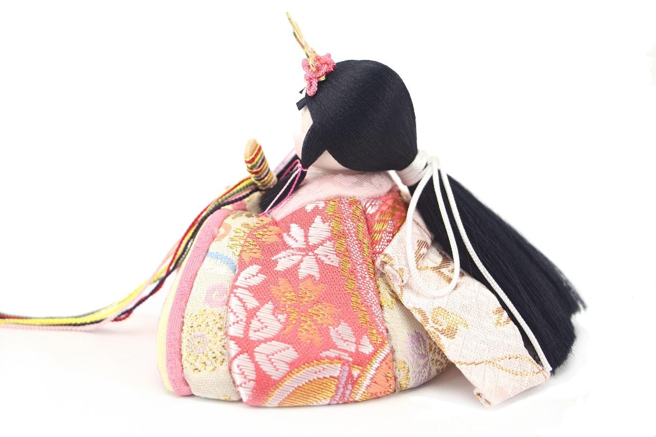 rico美琴(みこと)木目込み親王飾り雛人形 水玉屏風 鞠飾り付き