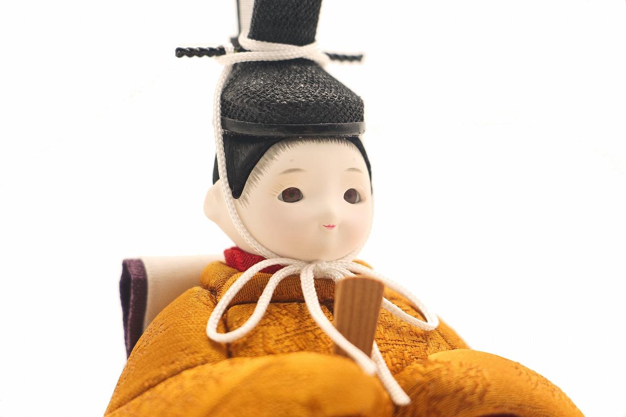 インスタグラム掲載 rico祥華(しょうか)木目込み親王飾り雛人形 木台 白布地に桜屏風