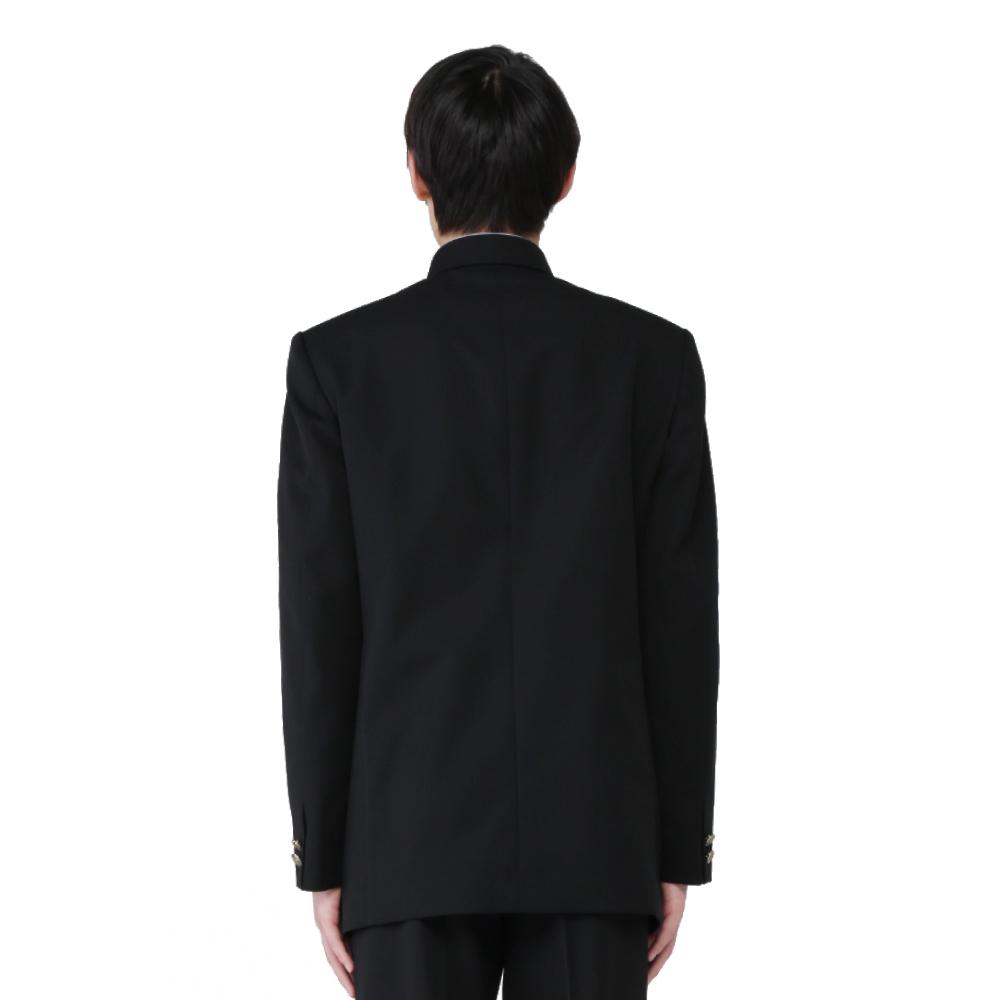 【ネット限定商品】【数量限定商品】 ネット限定特価 ポリエステル100% 標準型学生服 上下セット (上着:ラウンドカラーのみ ) (ズボン:ノータックのみ) 送料無料