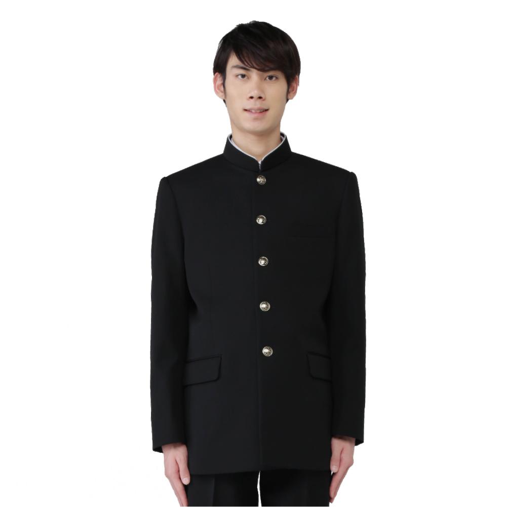 【カラー2タイプ】ポリエステル100% 標準型学生服 上着単品 (上着:ラウンドカラー/レギュラーカラー ) 送料無料