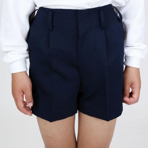 小学生制服 男子半ズボン ハーフ丈 紺