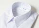 男子 長袖 スクールシャツ A体 B体 形態安定 綿55% ポリエステル45%