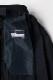 ウール50% ポリエステル50% スカート 紺 送料無料